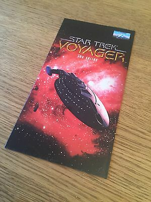 Rare WH Smith Star Trek Voyager Promotional Leaflet For Initial Release On VHS
