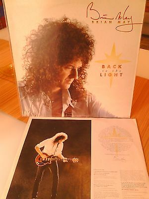 """Brian May/ Queen / Back To The Light/ 7"""" Beat Anni 60  Lp 33 Giri Rock"""