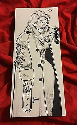 Midnight Of The Soul~Original Published Art~Howard Chaykin~Black Kiss The Shadow