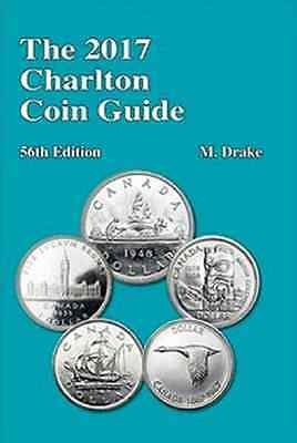 NEW 2017 CHARLTON CANADIAN COIN GUIDE, 56th EDITION