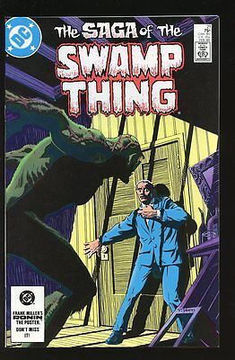 Saga Of The Swamp Thing #21 Very Fine / Near Mint Alan Moore 1984