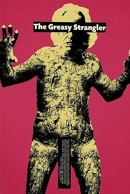 The Greasy Strangler, Super Rare A1 poster, only available at 2 UK previews