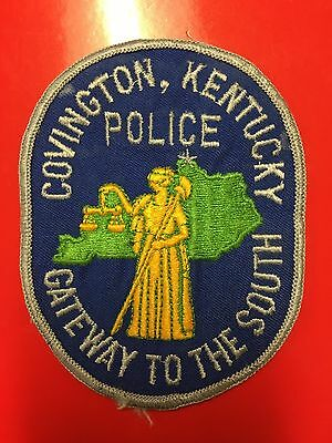 Covington Kentucky Police  Shoulder Patch Old Used