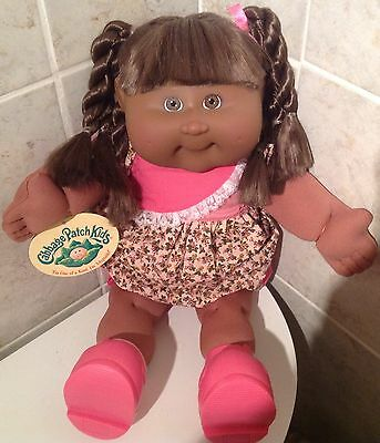 Cabbage Patch Playalong Pa7 Af/am Girl Twistie Hair  Original Clothes/shoes/tag