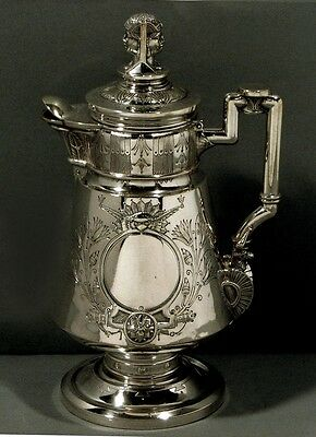 Wendt Sterling Pitcher           c1860                                  EGYPTIAN
