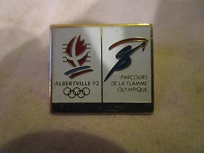 Badge Olypic Games Alberta 92
