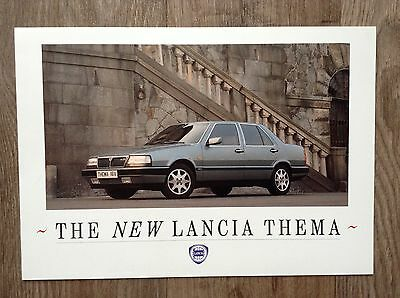 1988 LANCIA Thema Brochure - Preview Brochure in mint condition.