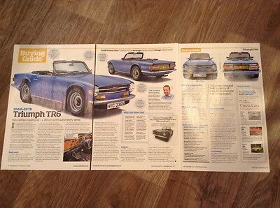 Triumph TR6 (1969-1976) - Classic Buying Guide Article