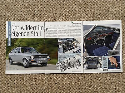 AUDI 50 - Classic Test Article (German Text)