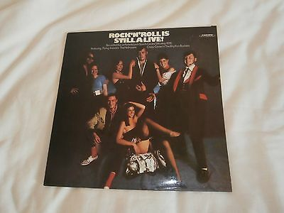 ROCK'n'ROLL IS STILL ALIVE! VARIOUS ARTISTS LP(MIS-PRINT ON LABEL)