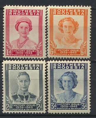 No: 47696 - SOUTHERN RHODESIA - LOT OF 4 OLD STAMPS - MH!