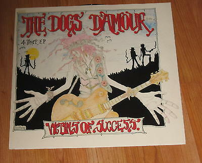 """The Dogs D'Amour – Victims Of Success – Vinyl 12"""" Ep First Pressing"""