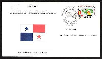 Espana 82-The Official First Day Cover-**republic Of Panama**
