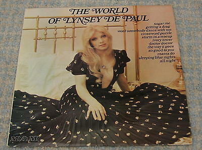 Lynsey De Paul – The World Of Lynsey De Paul – Vinyl Lp