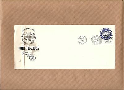 First Day Of Issue 4 Cent Embossed Stamped  Envelope 1958 Post Dated Sep 22 1958