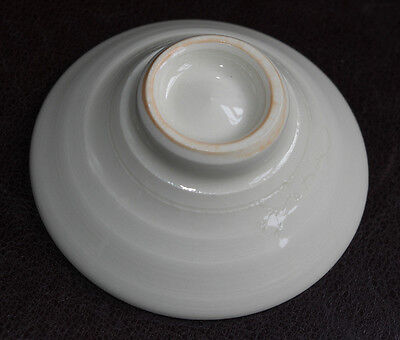 CERAMIC JAPANESE SAKEZUKI SAKE CUP : VGC Ochoko in Original Signed Box