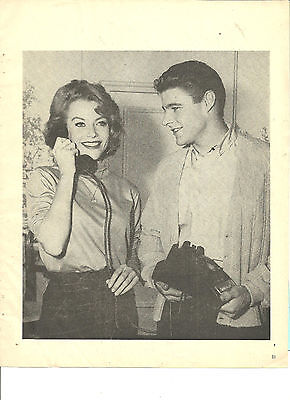 David Nelson, Ozzie and Harriet, Full Page Vintage Clipping