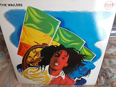 The Wailers - Re-Released 1973 Lp On Island Records Reggae Greats Series 1985