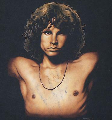 ~ JIM MORRISON ~ THE DOORS ~ LIZARD KING ~ s/s Crewneck T-Shirt S w/ FREE SHIP