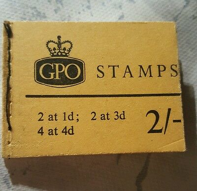 GPO Stamp booklet  SG F47 10/56