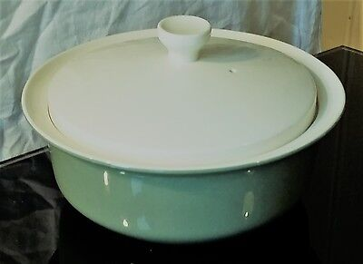 Nice Wedgwood Retro Lidded Veg Tureen -  Moss Green Pattern
