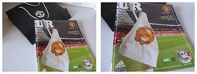 MANCHESTER UNITED v STOKE CITY Premier League 2015/16 PROGRAMME MINT + GIFT BAG