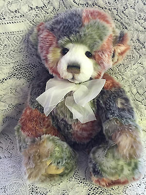 """Befuddle * Charlie Bears 2015 Plush  * 20"""" New With Tags"""