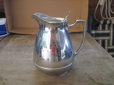 THERMOS Stainless Cream Pitcher..Holds 1 Cup ++... Obviously used, Scratches