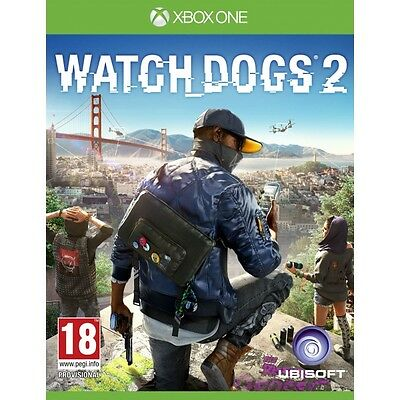 Watch Dogs 2 Xbox One Game Brand New