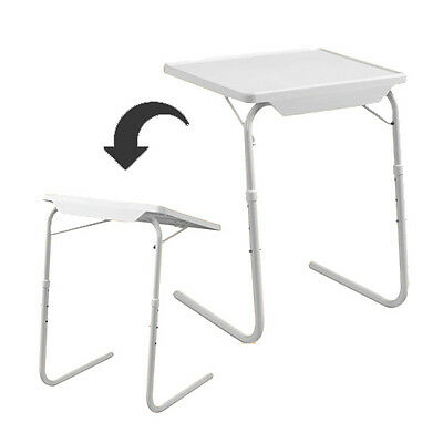 New Smart Table Mate Foldable Folding Tablemate As Seen On Tv Adjustable Tray