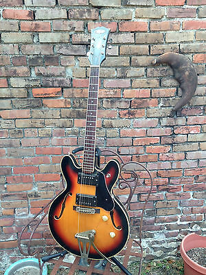 TRUMP Hollow Body Electric Guitar ES335 Style MIJ - Intact Used Vintage