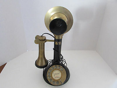 Vintage GEC Made in England Candlestick Rotary Phone. Converted