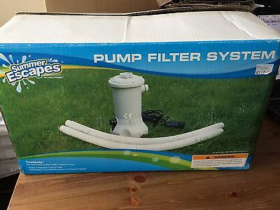 Summer Escapes Swimming Pool Pump 1000ltr like Bestway