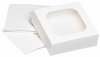 Wilton Treat Boxes Set of 3 Clear Window Cake Dessert For Candies Cookies Treats
