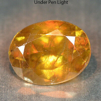 1.45 Cts Unheated Rare Color Change Natural Sphene Gemstones