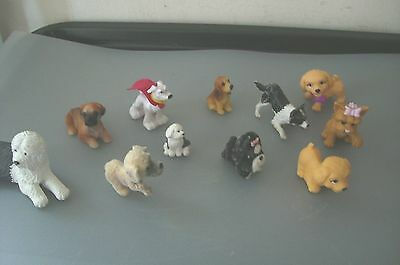11 Mixed Miniature Dogs Models
