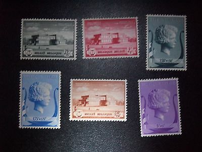Beaux Lot Timbres Belge Neuf 537 Mh Voir Photo