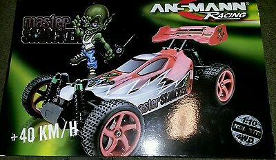 Ansmann Master Smacker 1/10 Electric 4WD Buggy New (non rtr)