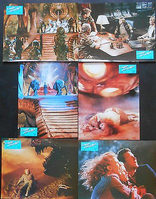 INVADERS FROM MARS 12 x L.C French 1986 Tobe HOOPER