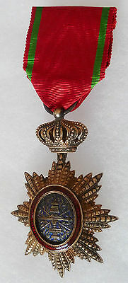 Médaille Indochine Croix Chevalier ORDRE ROYAL CAMBODGE ORIGINAL FRENCH MEDAL