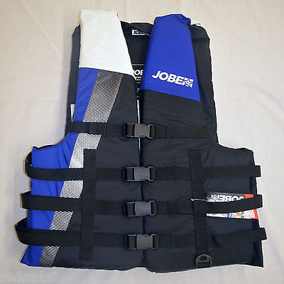 Jobe Progress Life Jacket 4 Buckle Buoyancy Jacket All Sizes