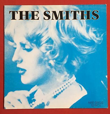 "THE SMITHS -Sheila Take A Bow- Rare German BLUE Sleeve /Black Vinyl 12"" (Record)"