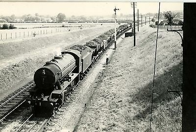 Railway Steam Photograph;  WD 90010 at Prospect Rd 1956