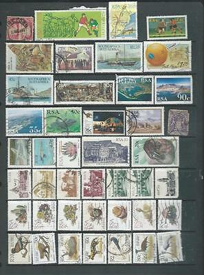 South Africa selection of stamps, good range (193]
