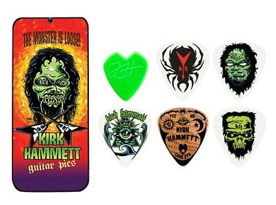 Dunlop Kirk Hammett Monster Pick Tin - 6 Plektren