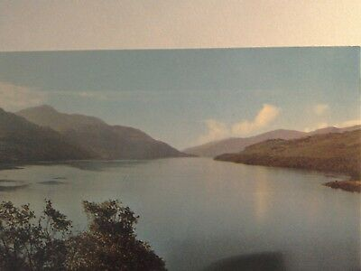 A Postcard of Loch Lomond and Ben Lomond,Scotland.Unposted.