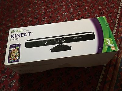 Xbox 360 Kinect Sensor Bar Boxed Complete Excellent Condition Freepost