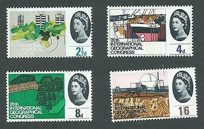1964. International Geographic Conference Set 'phosphor', Mint Never Hinged