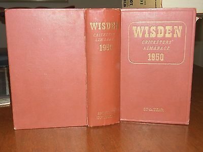 Wisden Cricketers' Almanack 1950 HB &  EXCELLENT condition