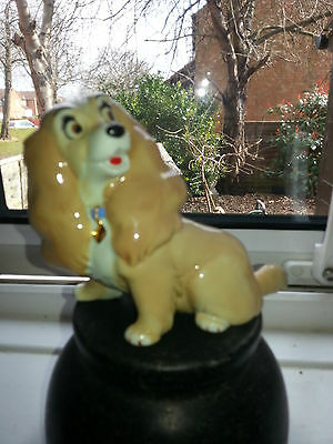 """Wade Disney Lady And The Tramp """" Lady """" Blow Up Dog Figure In Vgc"""
